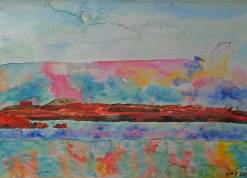 Evening on the lake Stilligary