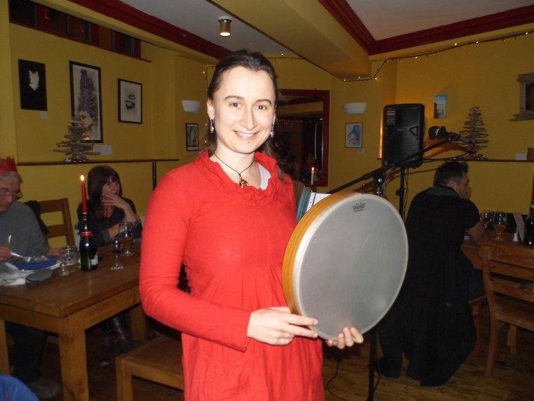 Oxana Poberejnaia at The Spoken Word Shindig #4