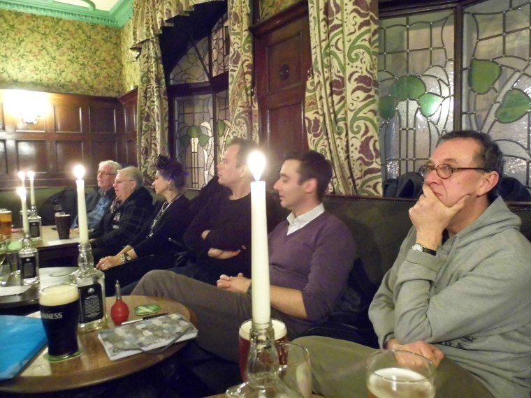 Audience at Spoken Weird, Jan 2014