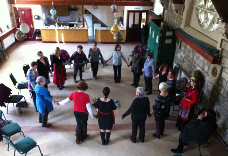 Circle Dance for celebrating Spring